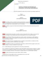 Código de Posturas de São Leopoldo - RS