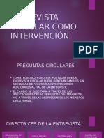 Entrevista Circular Como Intervención