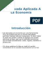 La Derivada Aplicada a La Economía