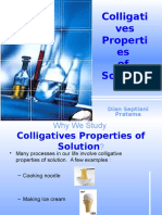 Colligatives Properties of Solution