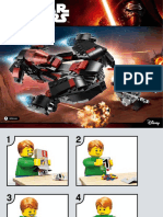 Lego Star Wars Eclipse Fighter Instructions!