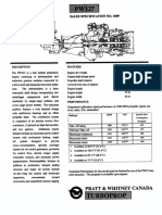 PW127 Turboprop Sales Specification No 1009 Datasheet
