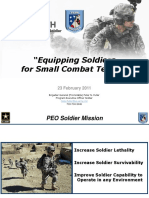 Equipping Soldiers