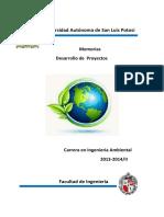 Memorias Desarrollo de Proyectos 2013_2014_II