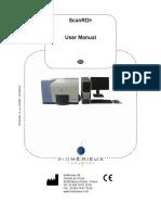 Biomerieux ScanRDI Manual - English