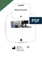 Biomerieux ScanRDI Manual - Spanish