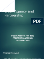 Trust, Agency and Partnership