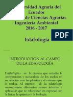 Introducción Al Campo de La Edafologia