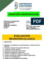 Clase 13 - Test y Pruebas Neuropsicológicas (Parte 1)