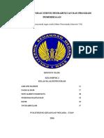 Penyusunan Laporan Survei Pendahuluan Dan Program