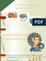 Comportamiento y Clima Organizacional