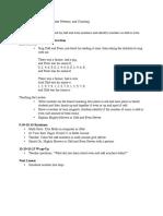10-31 Math Plans
