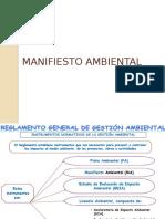 Unidad 5 Manifiesto Ambiental