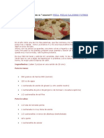 PIZZA en SARTÉN Lista en 7 Minutos