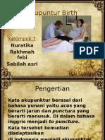 Akupuntur Birth