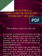 MODELOS FUNDICION