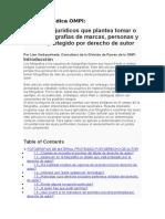 Revista Jurídica OMPI
