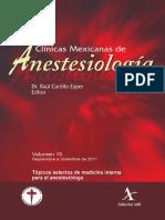 Topicos Selectos de Medicina Interna Para El Anestesiologo