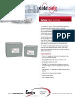 Enersys DataSafe HX 12V Telecom Battery Range Summary