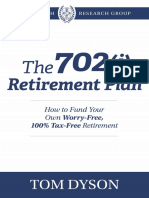 The 702j Retirement Plan PBRG