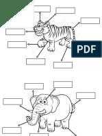 Worksheet Labelling