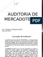 Auditoria de Mercadotecnia