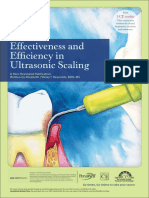 Effectiveness and Efficiency in Ultrasonic Scaling