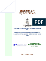Resumen Ejecutivo EIA LT. 220 Kv SE Cajamarca Norte - Pórtic.doc