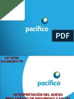 2ley y Reglamento Sst - Pacifico