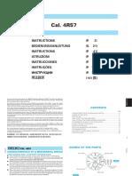 Manual for the SSA303J1 (similar models SSA305J1, SSA306J1, SSA308J1 and SSA309J1) & the 4R57 Caliber