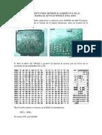 Procedimiento Para Obtener El Numero Pin de La Computadora d