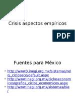 Crisis Aspectos Empíricos