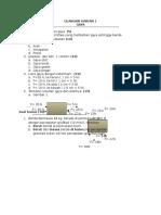 Ulangan Kl 8 1 Fisika ( Gaya)