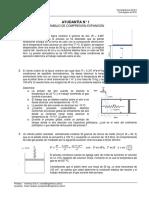 Ayudantia Termodinámica 1 2016-2 Compresión-Expansión