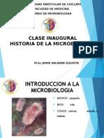 Clase 01 Historia de La Microbiología Udch