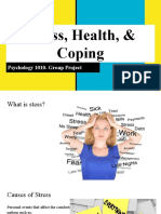 stress health   coping