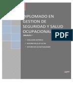 02 Evolución Histórica, Historia de La Ley 16.744