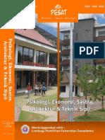 Pesat Vol. 6, 2015 Pengaruh Desentralisasi Fiskal terhadap Pertumbuhan Ekonomi Daerah dan Ketimpangan Pendapatan