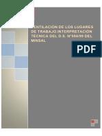 36. Interpretación DS 594 – Ventilación en Los Lugares de Trabajo