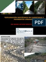 Exploracion Geotecnica en Carreteras