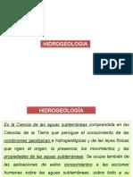 Hidrologia e Hidrogeologia (1)