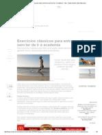 Exercícios clássicos