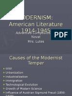 Modernism PowerPoint
