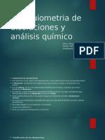 Estequiometria de Disoluciones y Análisis Químico