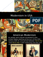 modernism to american