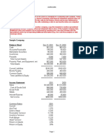 Inventory Income Statement Template