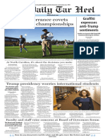 The Daily Tar Heel for Nov. 11, 2016
