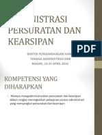Administrasi Persuratan Dan Kearsipan
