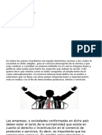 5.2 Entorno Politico Legal