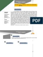 Contoh Profil Penelitian 2014